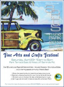 Arts in the Park- April 23, 2011